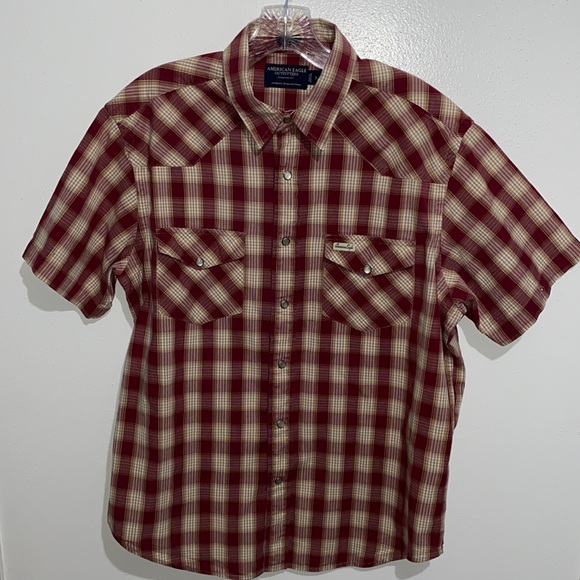 American Eagle Outfitters Western Shirt Size M